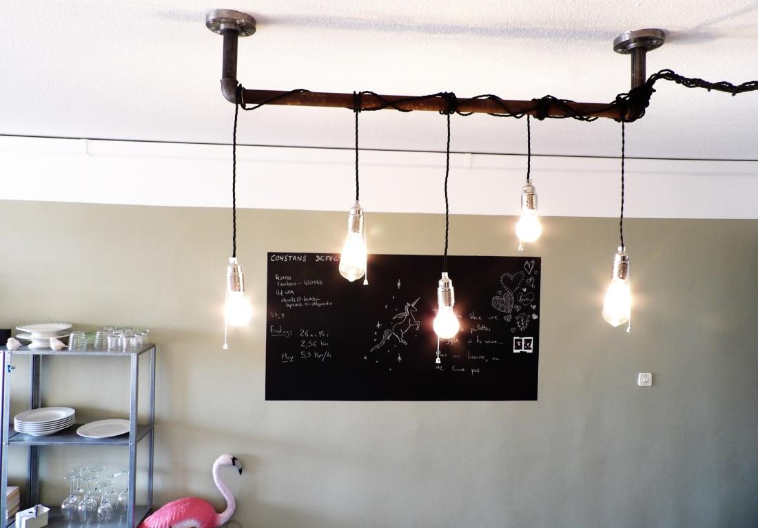 diy du luminaire ampoules filaments r alis partir. Black Bedroom Furniture Sets. Home Design Ideas