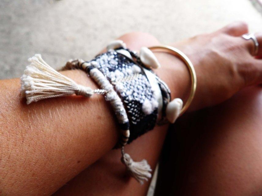bracelet en tissage