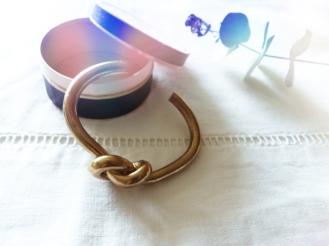 Knot bracelet Céline Inspired