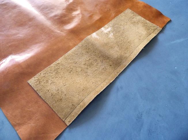 DIY sac cuir XXL