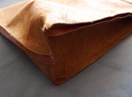 plaigne et assemblage du fond du sac