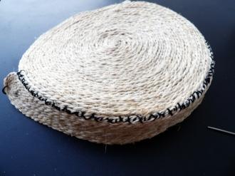 DIY sac en paille montage du fond de sac