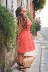 Tutoriel // DIY de la robe à dos croisé - Crédit photo Charlène Pélut