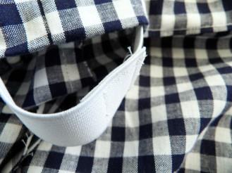 couture de l'élastique