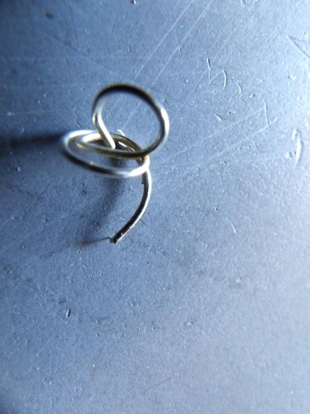 création de l'anneau tire bouchon