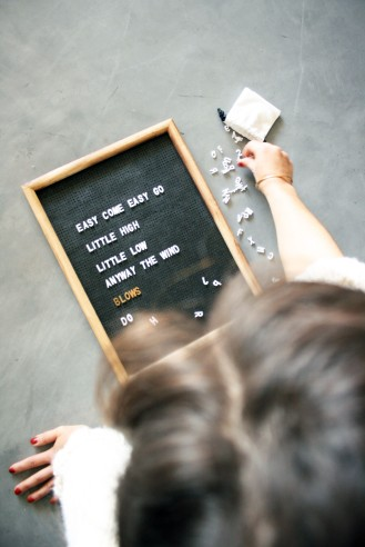 Tutoriel DIY Messageboard - Crédit Photo Morgan Champiot