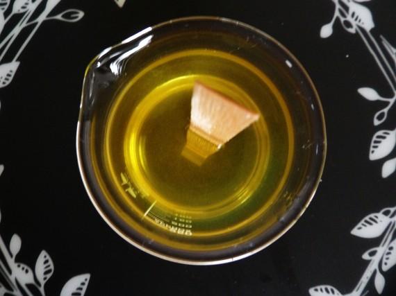 cire de massage fondue