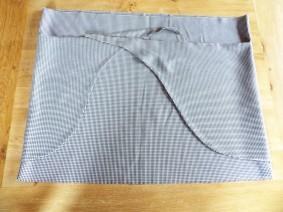 tutoriel jupe nouée DIY