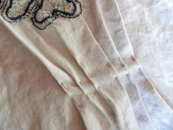 diy mini kaftan creation de l'attache de la robe