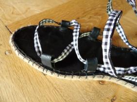 DIY sandales