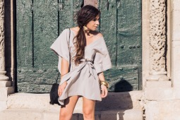 DIY robe chic minimaliste