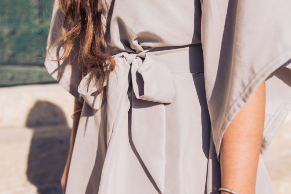 DIY robe chic minimaliste