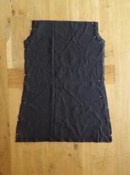 diy robe asymétrique