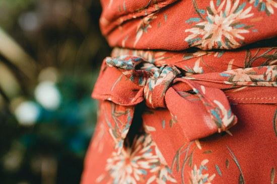 DIY robe portefeuille 3/16